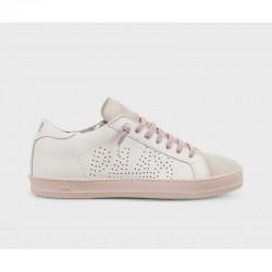Sneaker bassa E8 John White-pink - P448