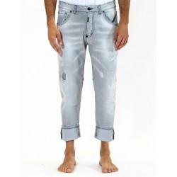 Jeans black taglio dietro  - I'm Brian