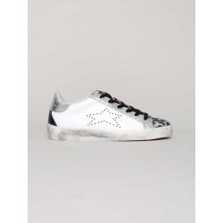 Sneaker Low Animalier Silver - Ishikawa
