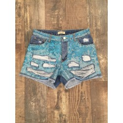 DENIM SHORT PAILETTES