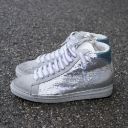 """sneakers E6 star silv/pail """"P448"""""""