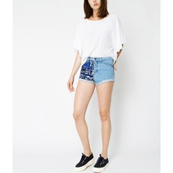 SHORT CON PAILLETTES