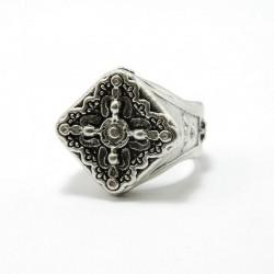"""anello in ottone Croce C3110F """"PIETRO FERRANTE"""""""