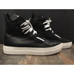 """Sneaker alta FM20 BRUNELLA BIZ NERO """"BL SHOES"""""""