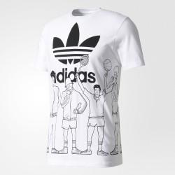 Tshirt Trefoil Graphic BQ3128 Adidas Original
