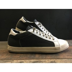 Sneaker E7JOHN Black-White P448