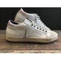 Sneaker E7JOHN White-Pink P448