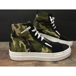 Sneaker Alta BL 15 Camouflage BL Shoes