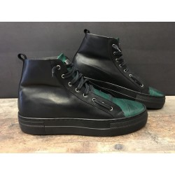 Sneaker Alta BL 15 Verde BL Shoes