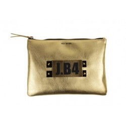 POCHETTE MEDIUM NAPPA ORO