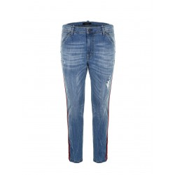 Jeans Bande Multicolor P372MABD01 Imperial Fashion
