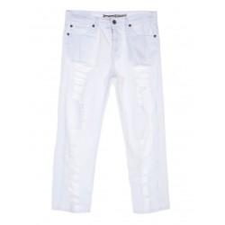 Jeans Baggy con Rotture P66MCV9G23 Please