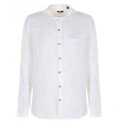 Camicia Coreana Lino C2118A588 Please