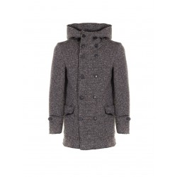 Cappotto collo alto doppiopetto - Imperial Fashion