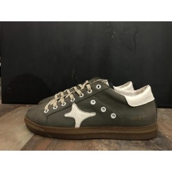 Sneaker bassa leather antracite 954 - Ama Brand