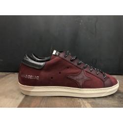 Sneaker bassa leather bordeaux 940 - Ama Brand