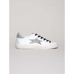 Sneaker Low stella Glitter Silver - Ishikawa