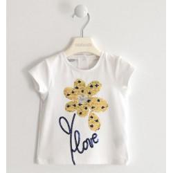 T-shirt con applicazioni - Sarabanda