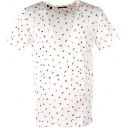 T-shirt con fantasia a colori - Selected