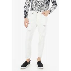 Pantaloni Slim Con Strappi - Imperial