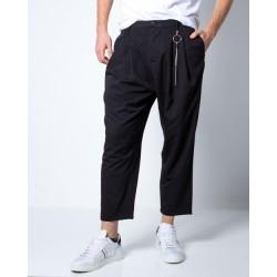 Pantalone Nero Con Catena - Imperial