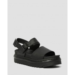 SANDAL VOSS BLACK HYDRO LEATHER