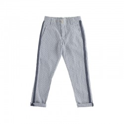 Pantalone Elegante A Righine - Sarabanda
