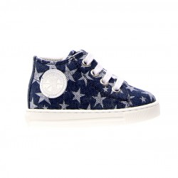 SCARPE MAGIC TELA STELLE JEANS