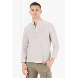 Camicia Serafino a Righe - Imperial Fashion