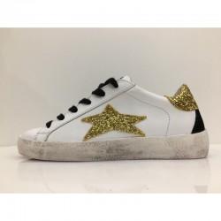 Sneaker Low Limited Glitter Oro - Ishikawa