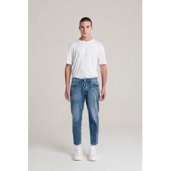 Jeans corto a gamba ampia - I'm Brian