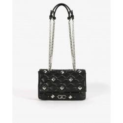 Mini Bag Matelasse Con Borchie a Rombi - Gio Cellini