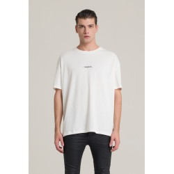 T-shirt oversize con stampa logo - I'm Brian