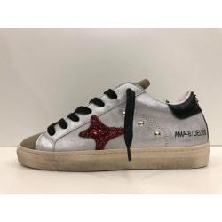 Sneakers in Laminato e Camoscio - Ama Brand