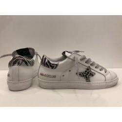 Sneaker donna Low tab zebrato - Ama Brand