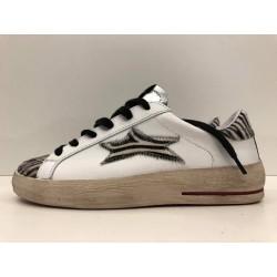 Sneaker low Plus Con Tab Punta e Stella Zebrata - Ishikawa