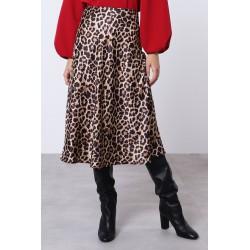 Gonna midi animalier - Imperial Fashion