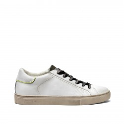 LOW TOP ESSENTIAL TOTAL WHITE LINGUETTA CAMOU