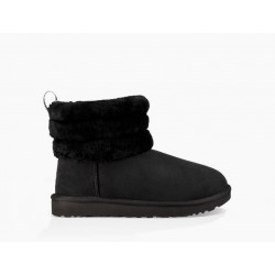 Mini Fluff Quilted Black - Ugg Australia