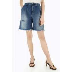 Short Svasati Con Strappi - Please Fashion