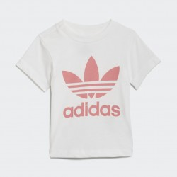 T-Shirt Basic Trefoil Rosa - Adidas Original