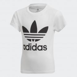 T-Shirt Trefoil Bianca e Nera - Adidas Original