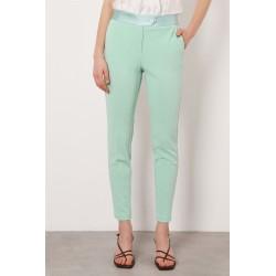 Pantalone Slim Con Fascia Smoking - Imperial Fashion