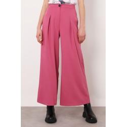 Pantaloni Wide Cropped con Pinces - Imperial fashion