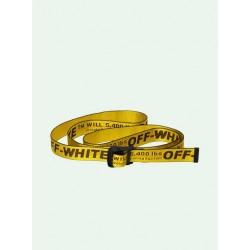 Cintura Classic Industrial Belt Yellow - OFF-WHITE