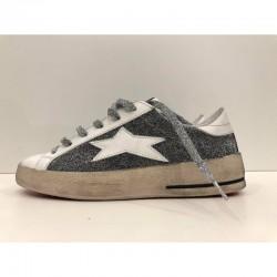 Sneaker donna Low Plus total argento - Ishikawa