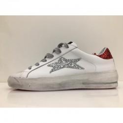Sneaker Low Plus Limited Glit. Argento - Ishikawa