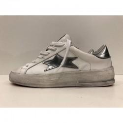 Sneaker donna Low Plus stella argento - Ishikawa
