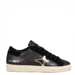 Sneaker Donna 1918 Nero e Oro - Ama Brand
