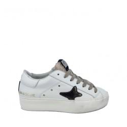Sneaker Donna Platform Linguetta Lana - Ama Brand